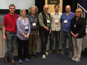 Some of the EDGErs at Tufts, 2016