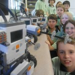 LEGO MINDSTORMS NXT by year 5/6 students at Mt Ousley PS.