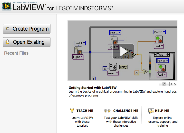 LabVIEW – LEGO Engineering