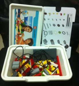 LEGO WeDo kit.