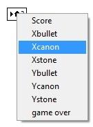 selectXcannon
