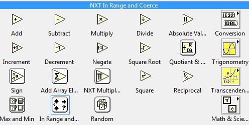 Numeric menu