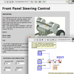Front Panel steering control