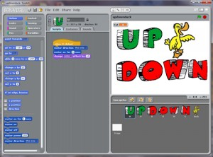 Source Code for updownduck in Scratch.