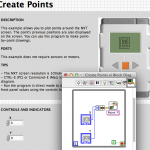 Create points
