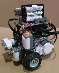 Raspberry Pi + BrickPi + LEGO