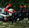 Santa Claus' sleigh