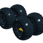 simple car ballon tires II