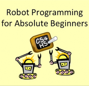 Robot programming for absolute beginners