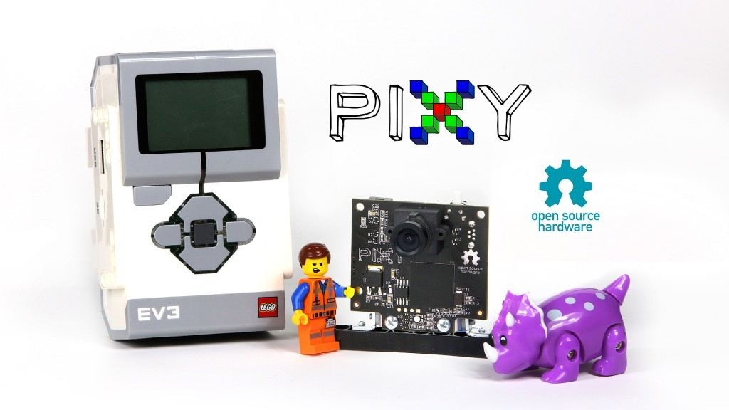 Pixy for LEGO: A smart vision sensor for NXT and EV3 – LEGO