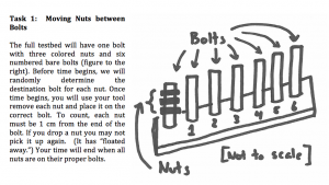 Nuts and Bolts Challenge