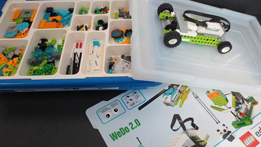 A LEGO WeDo learning sequence for younger students