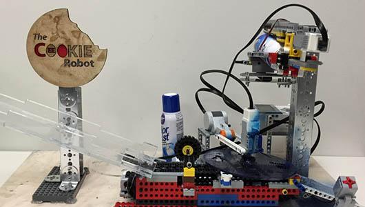 Cookie Decorating Robot