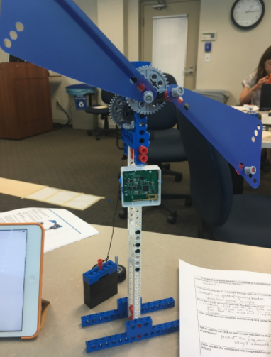 Using PocketLab with Simple & Powered Machines – LEGO