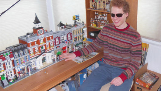 LEGO for the blind: Touching the untouchable