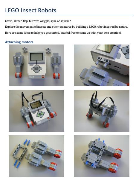 Silly Walks – LEGO Engineering
